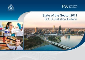 State of the Sector Report 2011 - Statistical Bulletin - Public Sector ...