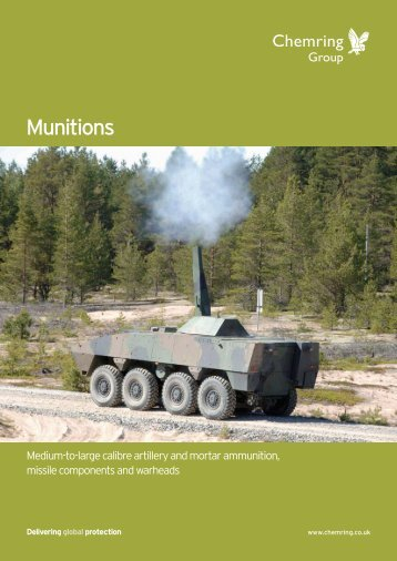Munitions - Chemring Group PLC