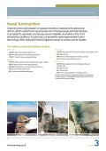 Munitions - Chemring Group PLC - Page 3