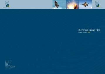 Interim report 2007 - Chemring Group PLC