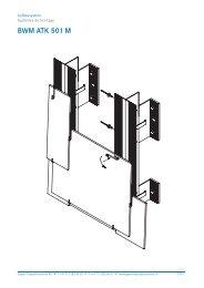 BWM ATK 501 M - Gasser Fassadentechnik AG