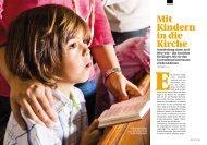 Mit Kindern in die Kirche