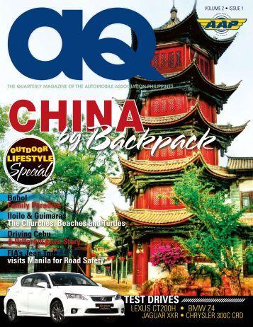Volume 2 Issue 1 - Automobile Association Philippines