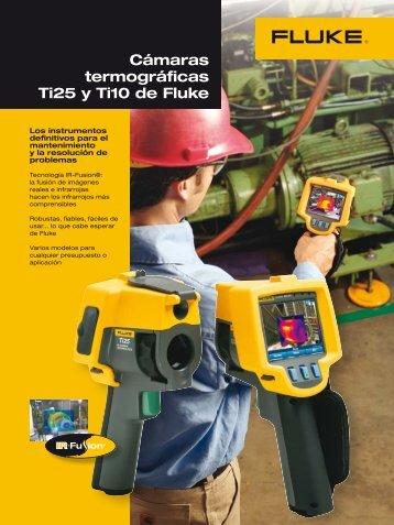Cámaras termogaficas Ti25-10, catálogo - Adler Instrumentos
