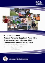 Annual Periodic Supply of Plant Hire, Emergency Plant Hire and ...
