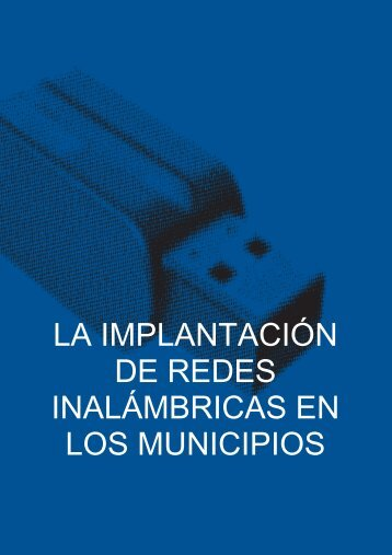 la implantación de redes inalámbricas en los municipios