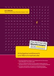 Wettbewerbsbroschüre - Deutschlands Mitarbeiterchampions