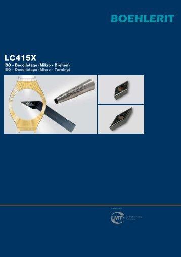 LC415X - BOEHLERIT GmbH & Co KG