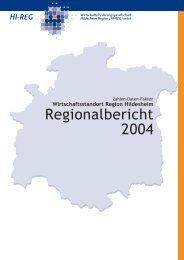 Wirtschaftsstandort Region Hildesheim - Hi-Reg