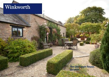 The Old Coach House, Strixton - Winkworth