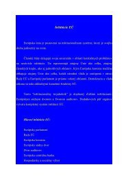 Inštitúcie EÚ (pdf, 110 kB)