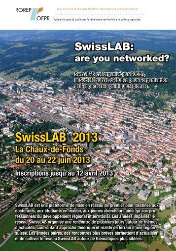 Télécharger la brochure Swisslab - Rorep