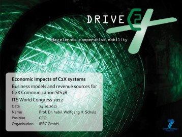 Wolfgang Schulz - DRIVE C2X
