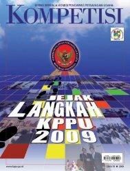 EDISI 19 2009 www.kppu.go.id
