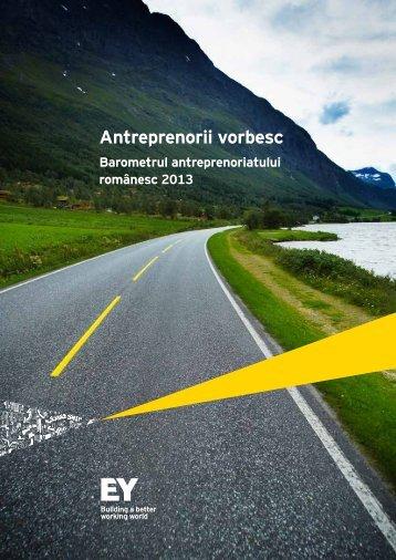 Antreprenorii vorbesc_Barometrul antreprenoriatului romanesc 2013