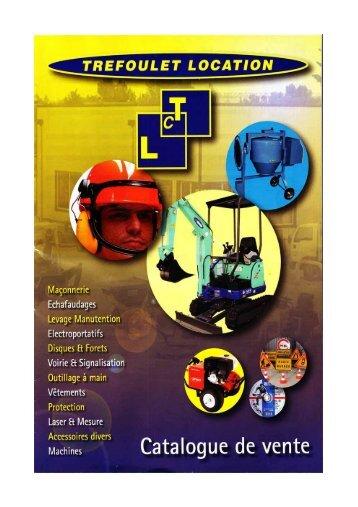 Catalogue de Vente au format pdf cliquez ici. - TREFOULET, location