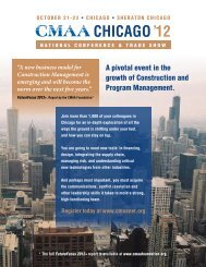 CHICAGO'12 - CMAA