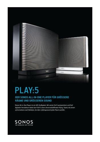 """Sonos Play:5"" (PDF) - HiFi im Hinterhof"