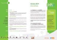 Assises 2013 de la Mobilité - Plan de déplacements urbains Ile de ...