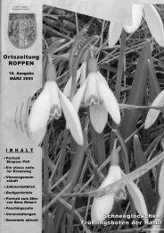 Gemeindezeitung HOU 18/2005 - Roppen