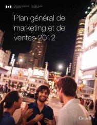 Plan général de marketing et de ventes 2012