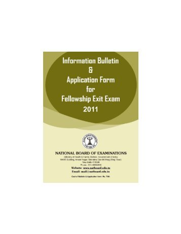 Download - National Board Of Examination