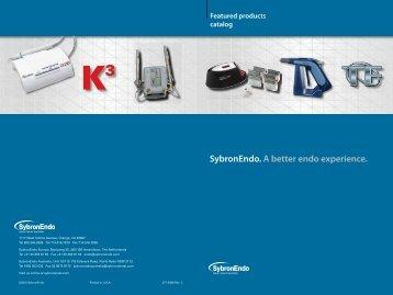 SybronEndo Product Catalog
