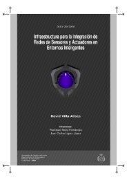 Infraestructura para la Integración de Redes de ... - Grupo ARCO