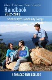 Student Handbook - Southwestern Community College