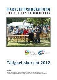 Tätigkeitsbericht 2012 - Bezirksjugendring Oberpfalz