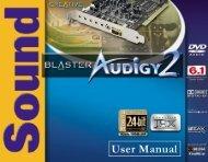Audigy 2 - Arx Valdex Systems