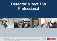 Detector D-tect 150 Professional - Shopexpert.ro