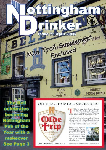 Mild Trail Supplement Enclosed - Nottingham CAMRA