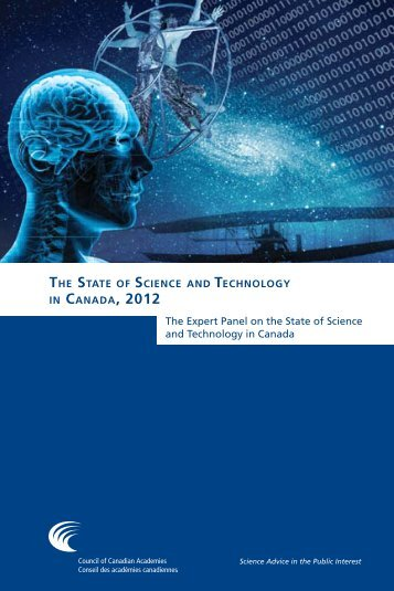 The State of Science and Technology in Canada, 2012 (full report)