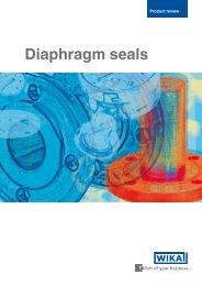 Diaphragm seals - sini.se