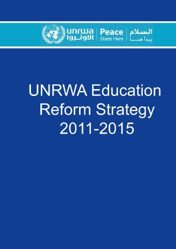 Education Reform Strategy - Unrwa