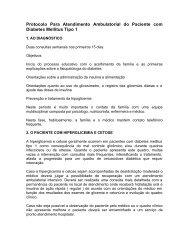 Protocolo Para Atendimento Ambulatorial do Paciente com Diabetes ...
