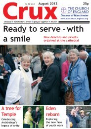 August 2012 - The Diocese of Manchester