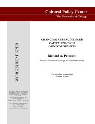 "Richard A. Peterson, ""Changing Arts Audiences: Capitalizing on ..."