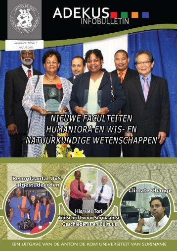 maart 2011 - Anton de Kom University of Suriname