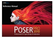 Poser Pro Reference Manual.pdf - Smith Micro Software, Inc.