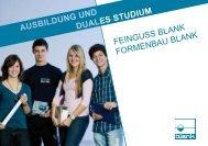 Mechatroniker m/w - FEINGUSS BLANK GmbH