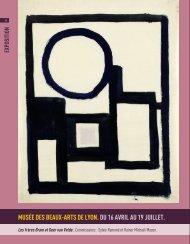 musée des beaux-arts de lyon. du 16 avril au 19 ... - Art Absolument