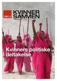 Kvinners politiske deltakelse - Fokus