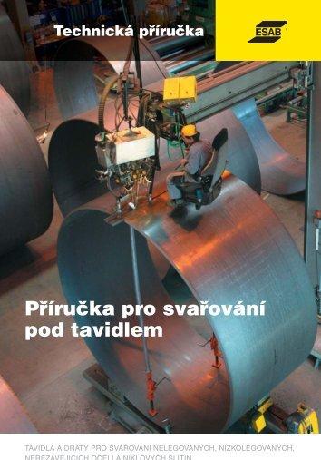 Technická příručka pro svařování pod tavidlem - Products - Esab