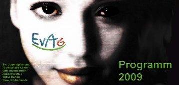 Programm 2009 final - Kreisjugendring Main Kinzig Kreis - EvA