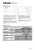 Modell: EDE 411M - Tretti.se - Page 2