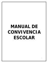 MANUAL DE CONVIVENCIA - Colegio Minuto de Dios