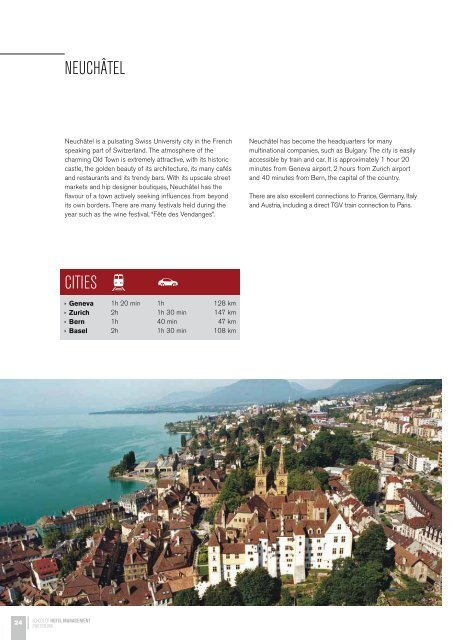 swiss excellence in hotel and tourism management education