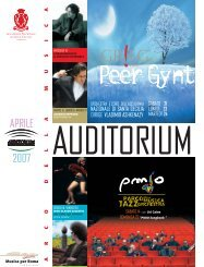 APRILE 2007 - Auditorium Parco della Musica